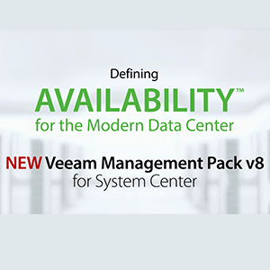 Veeam Management Pack for System Center v8